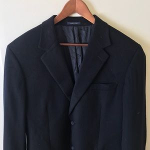 Vintage Club Room Men's Wool Silk Blazer Sz 42R